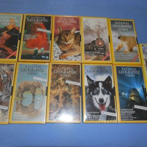 NATIONAL GEOGRAPHIC 11 VHS Z1