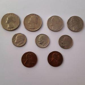 Νομίσματα από την Αμερική (Η.Π.Α.)
