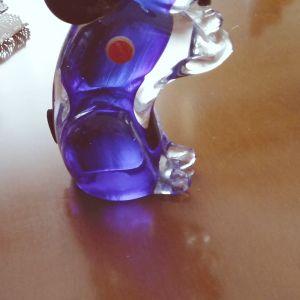 Αγαλματάκι MURANO ελέφαντας