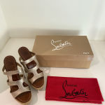 CHRISTIAN LOUBOUTIN Shoes in excellent condition - Size 38
