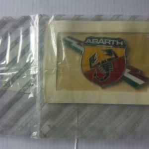 ΓΝΗΣΙΟ ΣΗΜΑ ABARTH ΓΙΑ Fiat Abarth 500, Punto Grande Evo