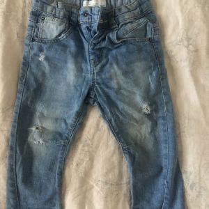 Zara ανοικτό μπλε τζιν βρεφικό - Rippped light blue Jean