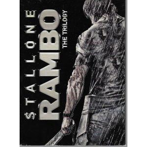 3  DVD / ΣΕΙΡΑ / THE TRILOGY RAMBO   / ORIGINAL DVD