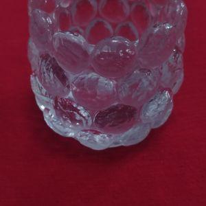 Κηροπήγιο/ βάση/ δοχείο Nybro, crystal Art Sweden