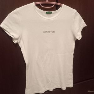 4 μπλούζες Benetton κοριτσίστικες