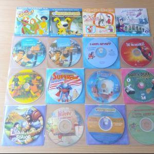 100+ παιδικές ταινίες DVD