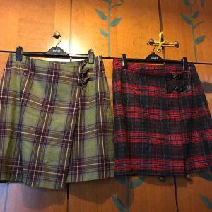 Σκωτσεζικες φούστες μαλλί-πολυεστερ large-Xlarge  (νούμερο 44)