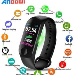 Smartwatch Με Καταγραφή Βημάτων, Ύπνου & Καρδιακών Παλμών  Andowl Y1 Smart Band