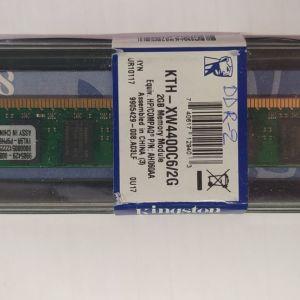 Μνήμη Kingston SD RAM 2GB DDR2