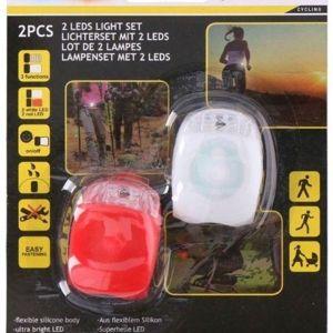 2 τεμάχια LED ποδηλάτου