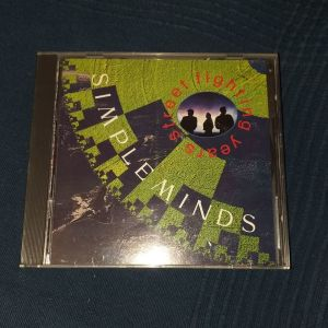 CD SIMPLE MINDS - STREET FIGHTING YEARS 1989