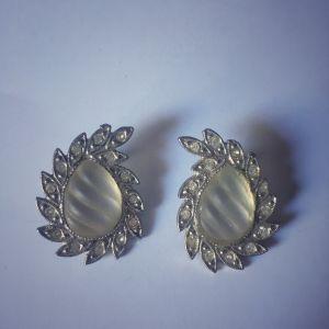 σκουλαρίκια με Swarovski , vintage