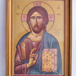 Αντίγραφο εικόνας Χριστού Ελεήμονος (Φώτη Κόντογλου)