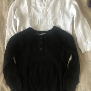 Παιδικά φανελάκια άσπρο κ μαύρο σετ / kids t shirt set black & white