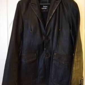 Πωλείται Ανδρικό Δερμάτινο Παλτό Basehit