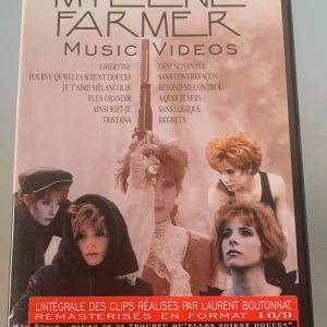 Mylene Farmer - Music videos dvd
