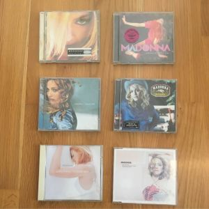 Cd Single Madonna American Pie