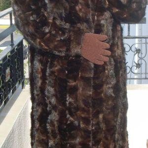 Γνήσιο βιζόν παλτό