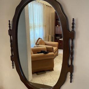 καθρέφτης ξύλινος εισόδου σε άριστη κατάσταση
