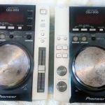 Pioneer DJM600 & Pioneer CDJ 200
