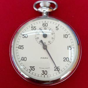 Rare Excelsior Park Chronometer 1/5 Seconde Swiss made Ελβετικό χρονόμετρο τσέπης 1945