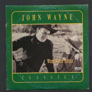 DVD - JOHN WAYNE CLASSICS - West of the divide