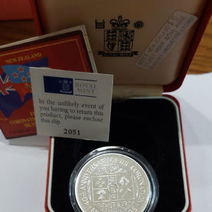Proof 1oz silver 999 1993
