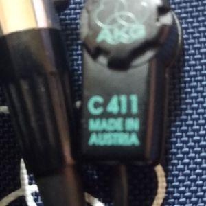 μικρόφωνο akg C 411