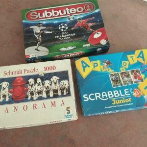 Δυο επιτραπέζια παιχνίδια