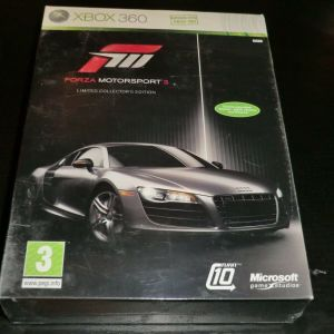 FORZA MOTORSPORT 3 LIMITED COLLECTORS EDITION XBOX 360 καινουργιο