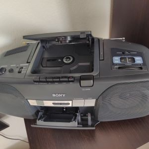 SONY CFD 909. Ράδιο κασετοφονο.