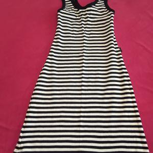 Φόρεμα ρίγες one size