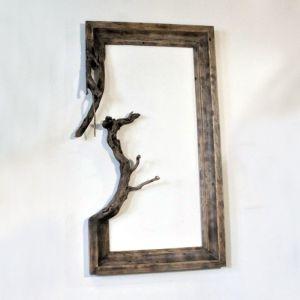 Επιτοίχια διακοσμητική κορνίζα ξύλου,
