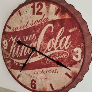 Μεγάλο ρολόι τοίχου μεταλικό 85 εκ
