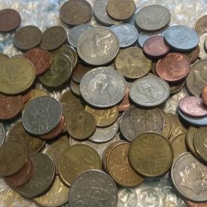 100 ελληνικά νομίσματα