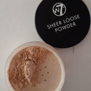 W7 loose powder