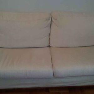 Σαλόνι με τριθέσιο και διθέσιο καναπέ