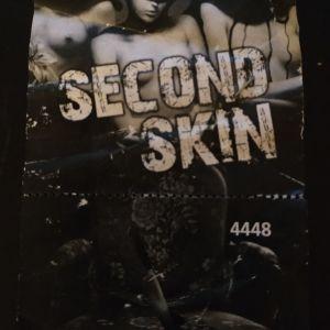 SECOND SKIN απόκομμα εισιτήριου του club second skin