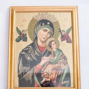 Αντίγραφο εικόνας Παναγίας Βρεφοκρατούσας (Μαντόνα)
