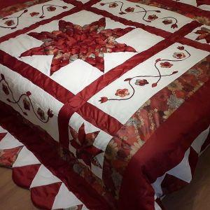 Κουβερλί με 2 μαξιλάρια