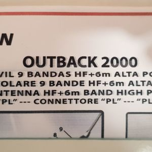 κεραία Falcon Outback 2000