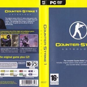 PC GAME COUNTER STRIKE 1 ANTHOLOGY