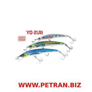 YO-ZURI CRYsTAL 3D MinnOw (F)/(s).