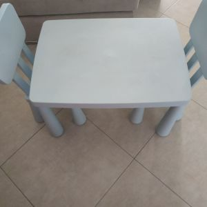 Παιδικό τραπεζάκι με 2 καρεκλες