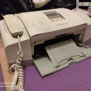 hp office jet all in one fax φαξ