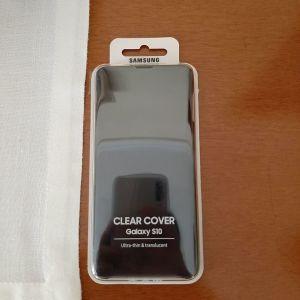 Samsung Galaxy S10 Clear Cover Θήκη