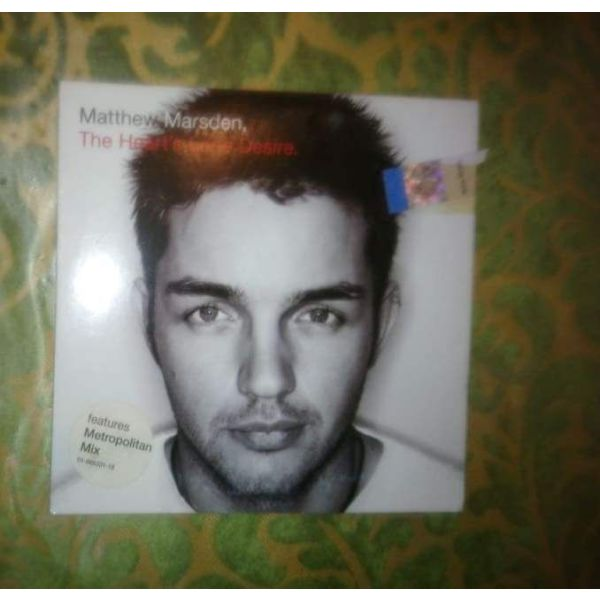 CD S-MATTHEW MARSDEN-THE HEART S LONE DESIRE