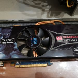 Kάρτα γραφικών GPU ATI Radeon HD 4870 Toxic