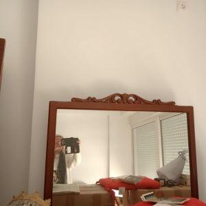 Σετ κρεβατοκάμαρας με τουαλέτα με καθρέφτη