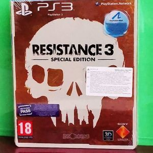 RESISTANCE 3 STEELBOOK PS3 (ΣΦΡΑΓΙΣΜΕΝΟ)